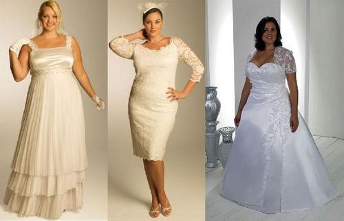 Vestidos de boda civil para gorditas