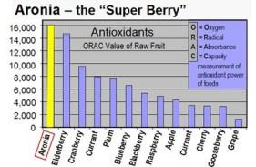 Antioxidant Chart