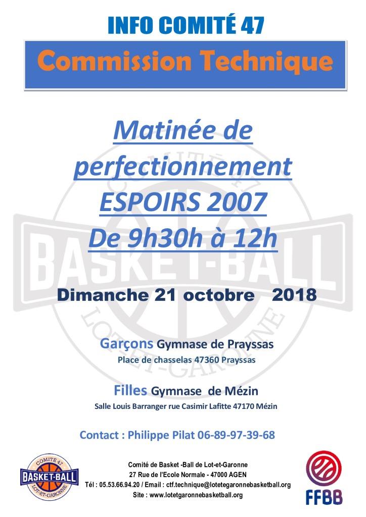 thumbnail of matinée de perfectionnement Espoirs 2007 – 21 octobre 2018. pdf
