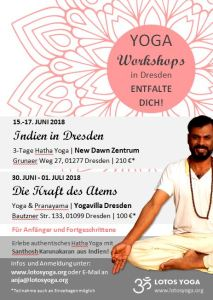 yoga workshops in dresden juni 2018