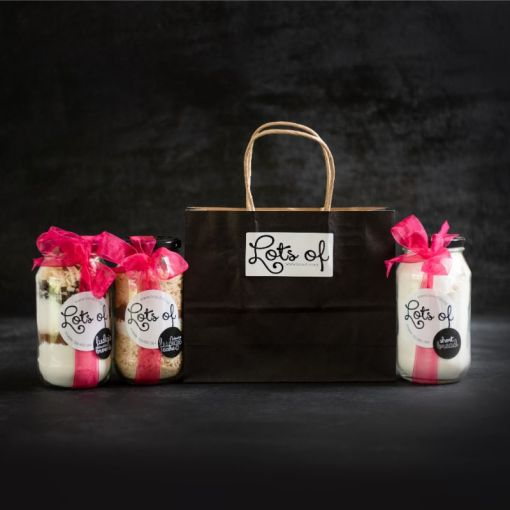 Cookie Ingredients Giftset 3 Jar in a Bag Buy Online
