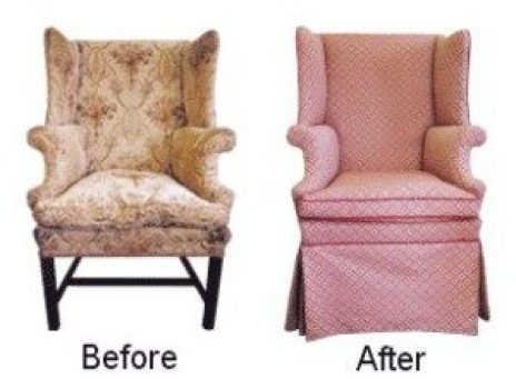 restoration before and after upholstery chair