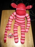 Sock Monkey - Body With Mouth