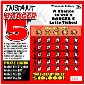 Badger 5 Ticket