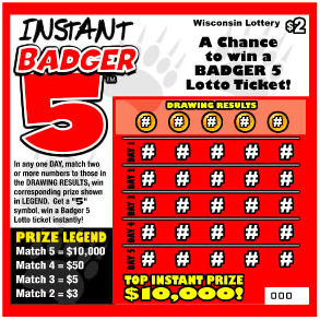 Badger 5 Ticket