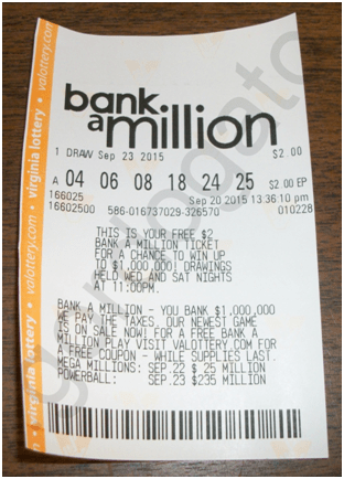 Bank a Million Ticket