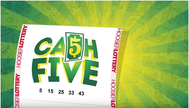 Cash 5 Hoosier Lottery