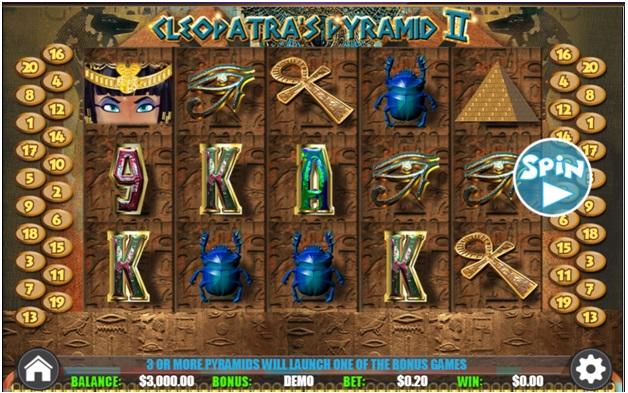 Cleopatras Pyramid 2