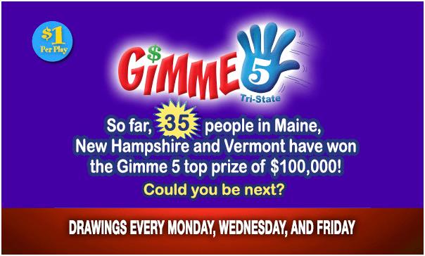Gimme 5 Prizes