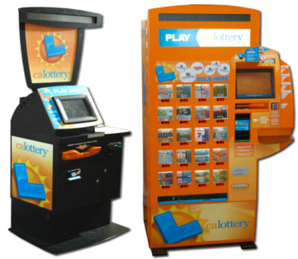 Does lottery vending machines in US have all types of lotteries to