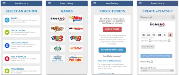 How to check lotto results with app