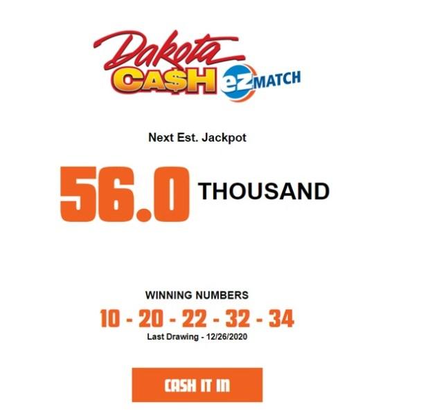 How to play Dakota Cash EZ Match
