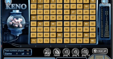 How to play Keno at Liberty Slots Online Casino with real USD