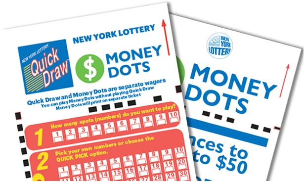 How to play money dots lottery games