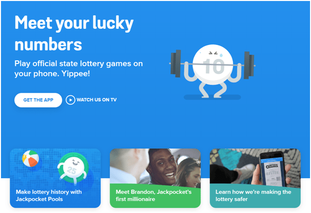 Lottery apps to buy tickets