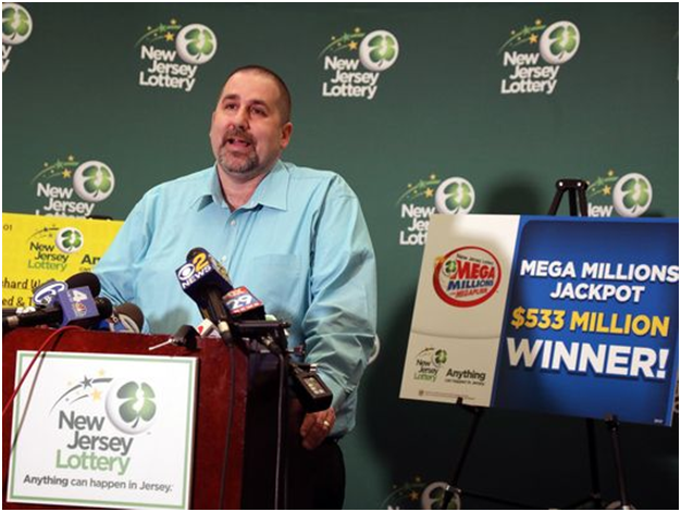 Mega Million Lottery Winner Richard Wahl