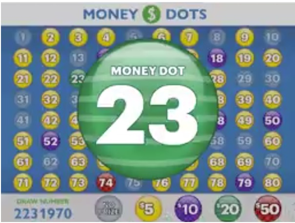 Money Dots game play