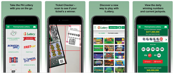 Pennsylvannia lottery app