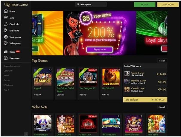 Rich Casino Lotto Games