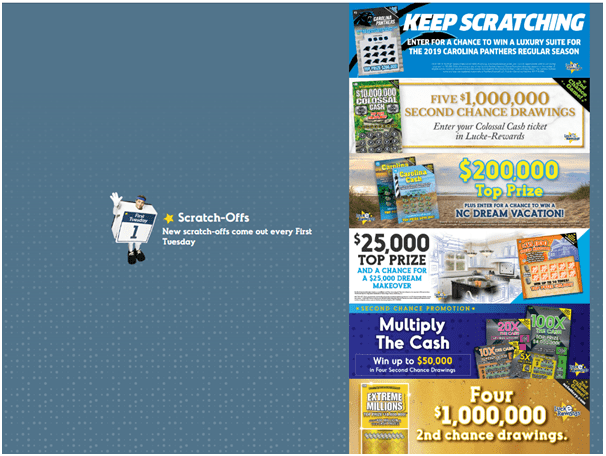 Scratch Lotteries North Carolina