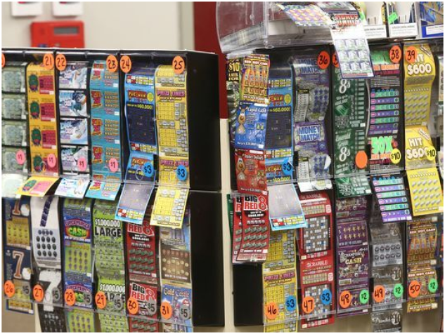 Which is the lucky store to buy lottery tickets in USA