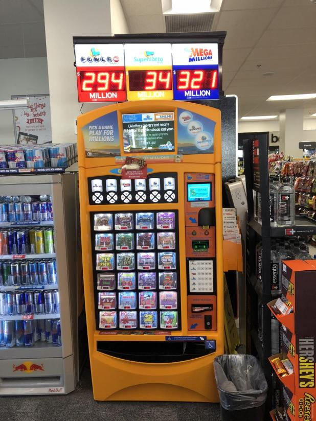 lotto vending machine- Buy US lotteries
