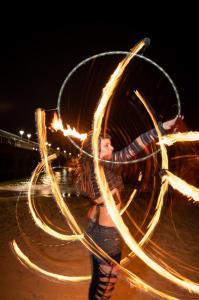 UK fire performer