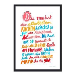 Frau Ottilie Print Mama