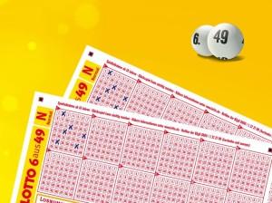 Lotto Tippschein Grafik