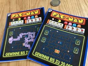 PAC-MAN Rubbellos von Lotto Hessen