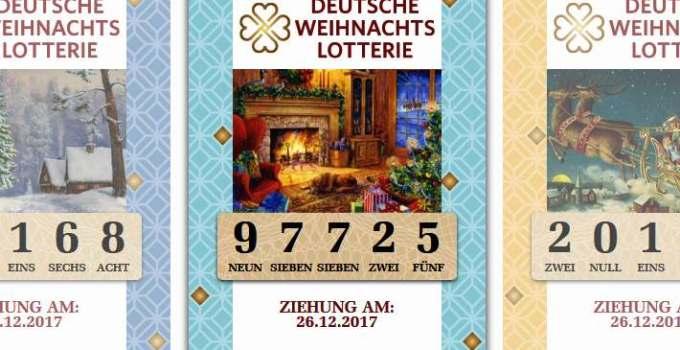 Deutsche Weihnachtslotterie Lose