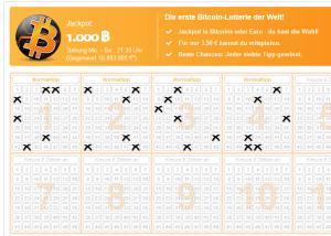Bitcoin Lotto Tippschein