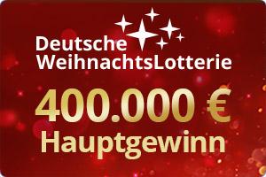 Deutsche Weihnachtslotterie Hauptgewinn