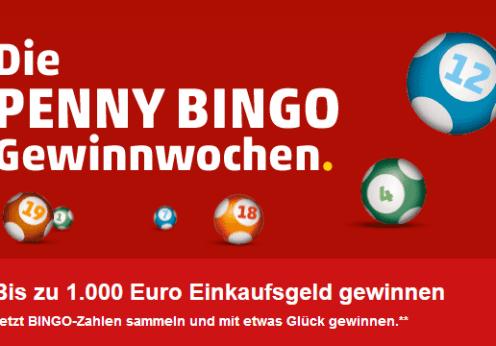 Die PENNY BINGO Gewinnwochen Logo