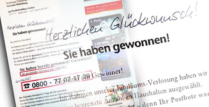 Gewinnbenachrichtigung Glöckle direct GmbH Titelbild