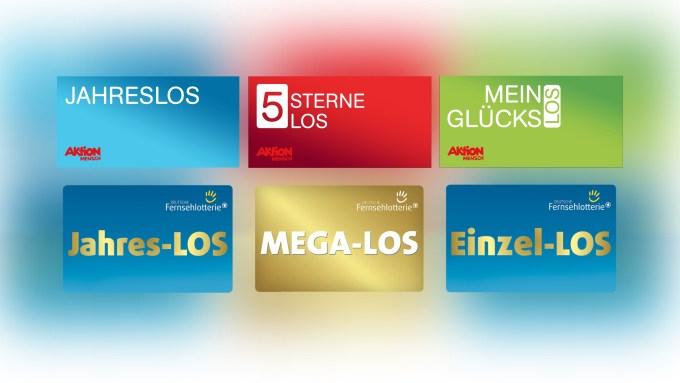 Aktion Mensch und Deutsche Fernsehlotterie Lose