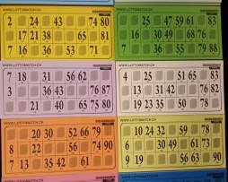 1er Lottokarten gross