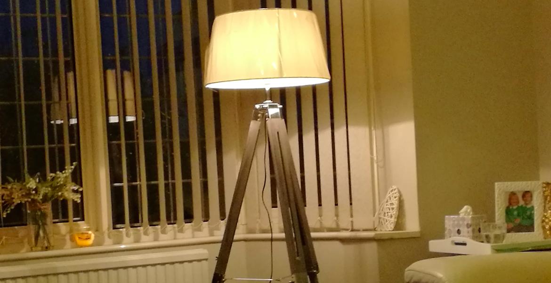 Aldi kirkton tripod lamp review £130 john lewis dupe for £50 lottyearns