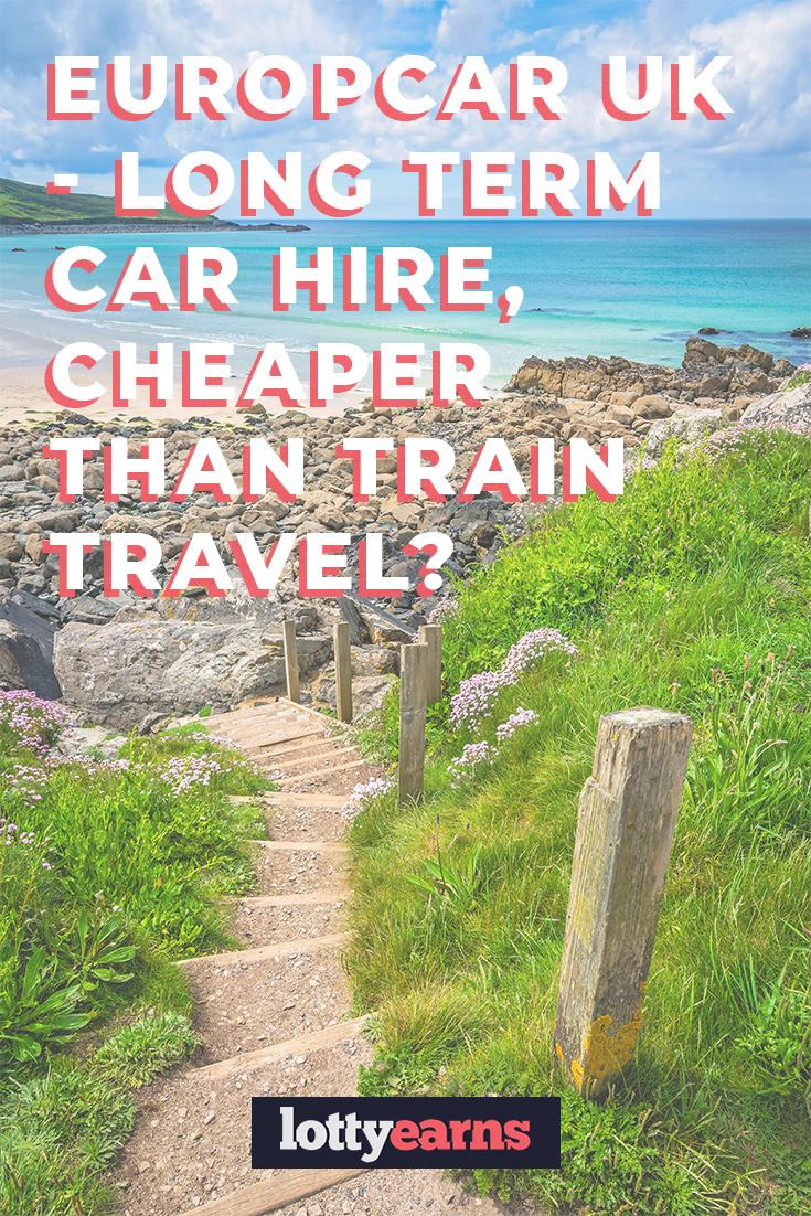 Europcar Uk Long Term Car Hire Cheaper Than Train Travel