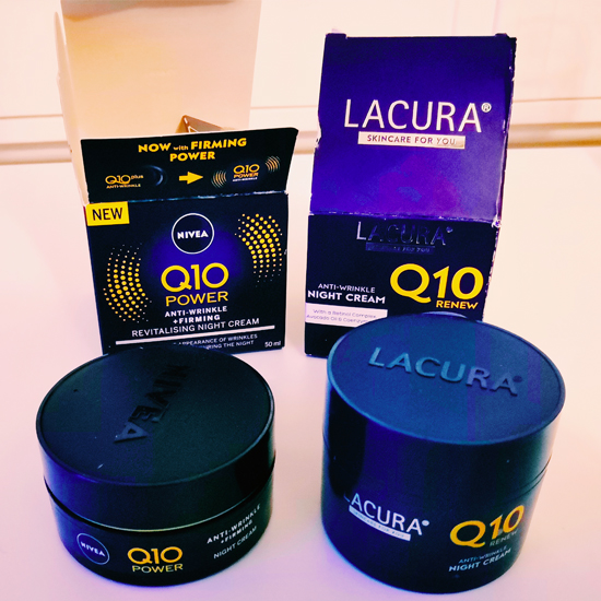 Aldi Lacura Q10 night cream