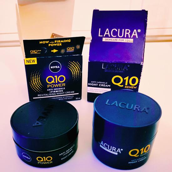 Aldi Lacura Q10 night cream