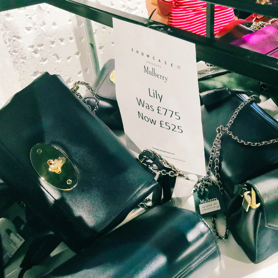 3363604c5771 Inside a Mulberry sample sale - discounted designer bags - lottyearns