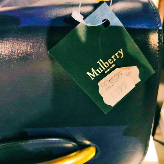 Mulberry sample sale