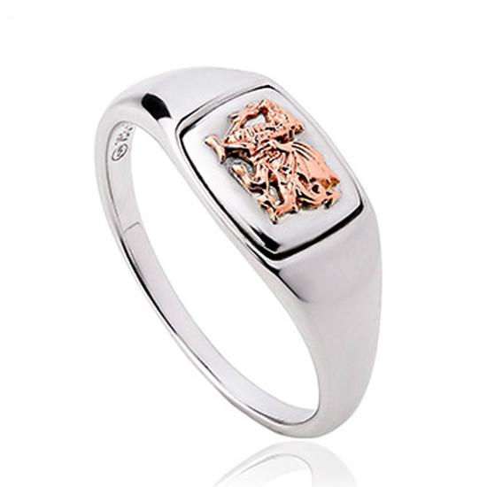 Clogau men's signet ring