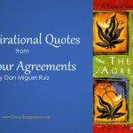 10 Inspirational Quotes from the Four Agreements by Don Miguel Ruiz