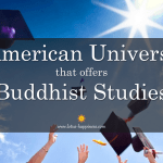26 American Universities that offers Buddhist Studies