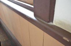 廊下の柱1つ1つにも加工
