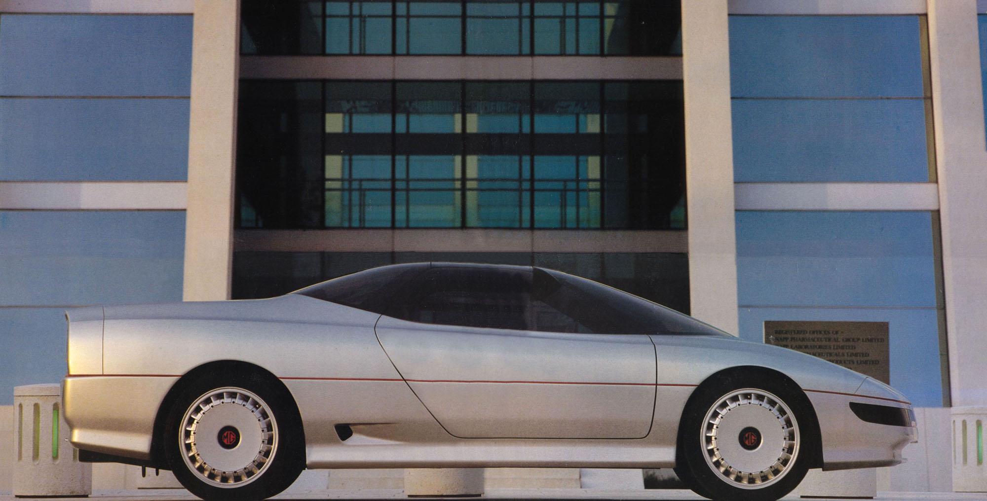 1980s Supercars MG EX E Concept Car