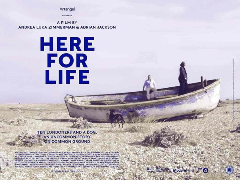 """Poster for """"Here for life"""""""