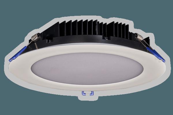8 round led fixtures recessed lighting